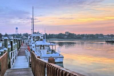 Photograph - Chesapeake City Marina by JC Findley