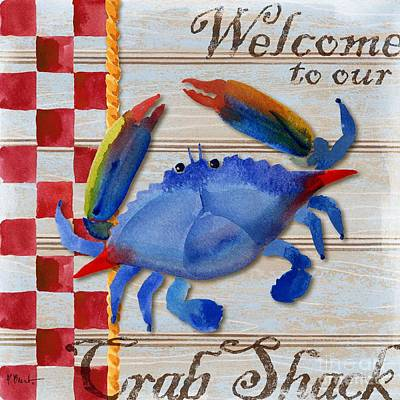 Chesapeake Crab Art Print by Paul Brent
