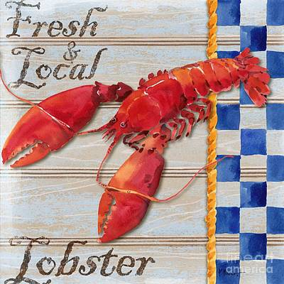 Chesapeake Lobster Art Print