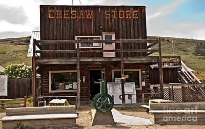 Photograph - Chesaw General Store by Valerie Garner