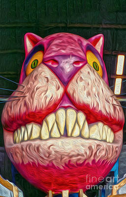 Painting - Cheshire Cat by Gregory Dyer