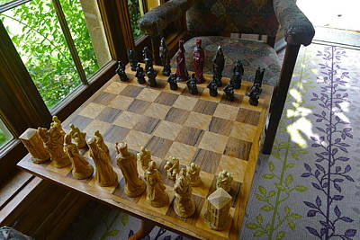 Photograph - Chess Anyone? by Denise Mazzocco