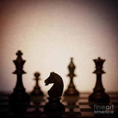 Knights Castle Photograph - Chess by Amanda Elwell