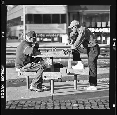 Photograph - Chess by Christopher Prosser
