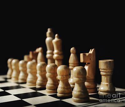 Chess Art Print by Jelena Jovanovic