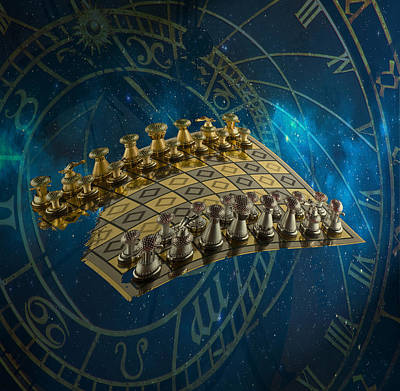 Chess  Original by Jessi Tesla
