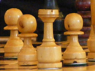 Photograph - Chess by Michelle Hoffmann