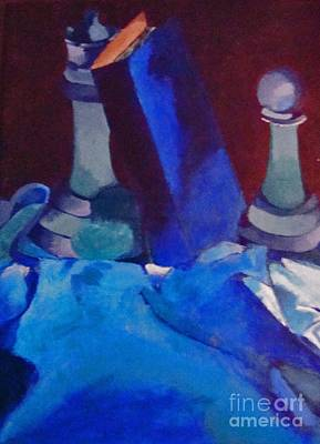 Painting - Chess Peace by Brittany Perez