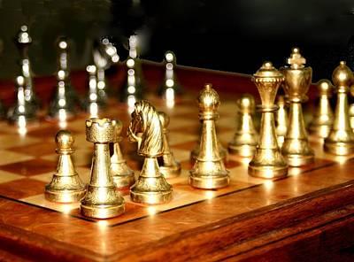 Chess Set  Art Print
