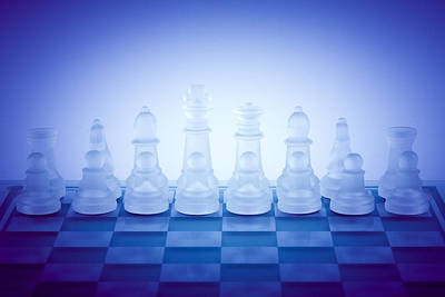 Abstract Royalty-Free and Rights-Managed Images - Chessboard by Modern Abstract