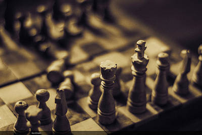 Photograph - Chessmaster by Diaae Bakri