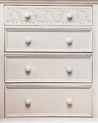 Chest Of Drawers Art Print by Tom Gowanlock