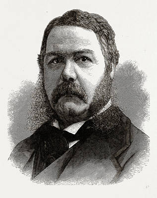 Chester A. Arthur, Vice-president-elect Of The United States Art Print by Litz Collection