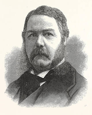 Chester Arthur, Vice-president-elect The United States Art Print by American School