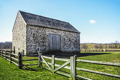 Chester County Barn Print by Bill Cannon