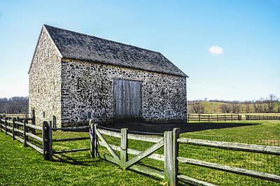 Barn Digital Art - Chester County Barn by Bill Cannon