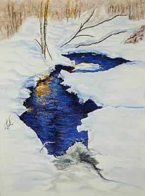 Chester Creek Art Print by Jocelyn Paine