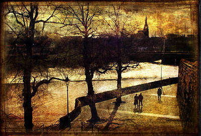 Photograph - Chester Riverwalk by Mal Bray
