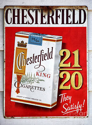 Photograph - Chesterfield by John Rizzuto