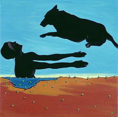 Chestertowns Shore, 1999 Art Print by Marjorie Weiss