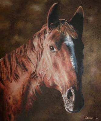 Painting - Chestnut by Cherise Foster