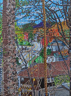 Chestnut Street From Clinton Street Art Print by Micah Mullen