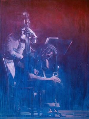 Chet Baker Art Print by Frans Mandigers