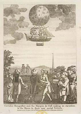 Chevalier Humguffier Art Print by British Library