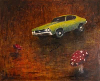 Chevelle Art Print by Jeff Levitch