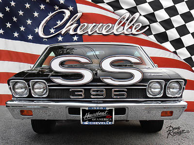 Photograph - Chevelle Ss 396 by Doug Kreuger