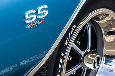 Chevelle Ss 454 Badge Art Print