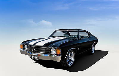 Chevy Ss Wall Art - Digital Art - Chevelle Ss by Douglas Pittman