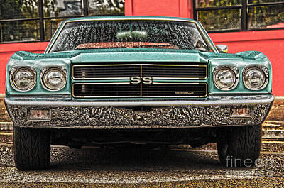 Photograph - Chevelle Ss by Sonya Lang