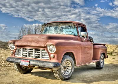 Photograph - Chevi. Truck by David Martorelli