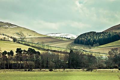 Vale Photograph - Cheviot Hills by Tom Gowanlock