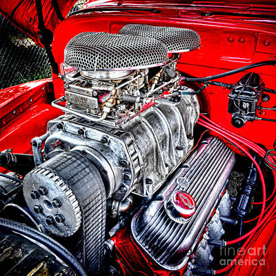Big Block Chevy Photograph - Chevrolesque by Olivier Le Queinec