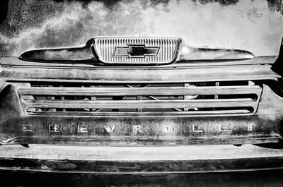 Chevrolet 31 Apache Pickup Truck Emblem Art Print by Jill Reger