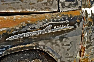 Photograph - Chevrolet Apache by AK Photography