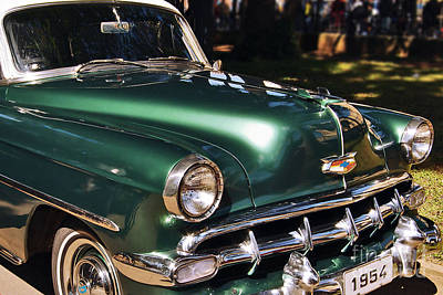 Photograph - Chevrolet Bel Air 1954 by Carlos Alkmin