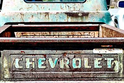 Photograph - Chevrolet by Bob Wall