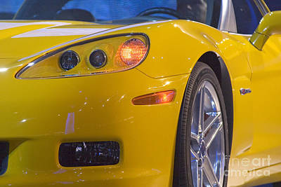 Photograph - Chevrolet Corvette by Jim West