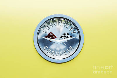 Chevrolet Corvette  Art Print by Tim Gainey