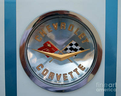 Photograph - Chevrolet Emblem by Mark Dodd
