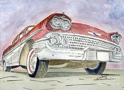 Chevrolet II Art Print