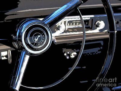 Photograph - Chevrolet Impala by Elena Nosyreva