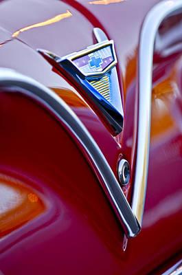 Chevrolet Impala Photograph - Chevrolet Impala Emblem 4 by Jill Reger