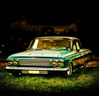 Chevrolet Impala Art Print by motography aka Phil Clark