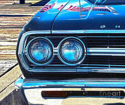 Art Print featuring the photograph Chevrolet In American Town by Sebastian Mathews Szewczyk