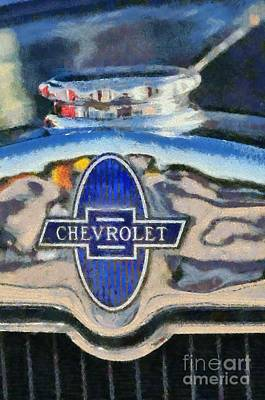 1929 Chevrolet International 2ac Art Print