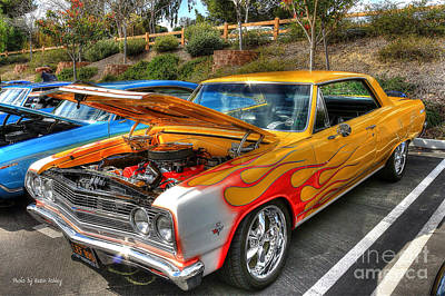 Photograph - Chevrolet Malibu Ss by Kevin Ashley